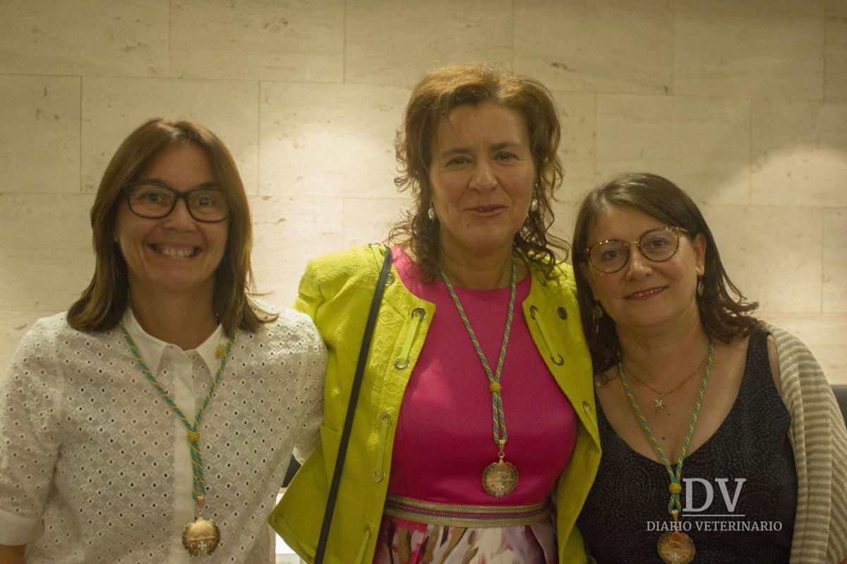 Izq. a drch.: María Luisa Fernández, Ana María López y Carmen López